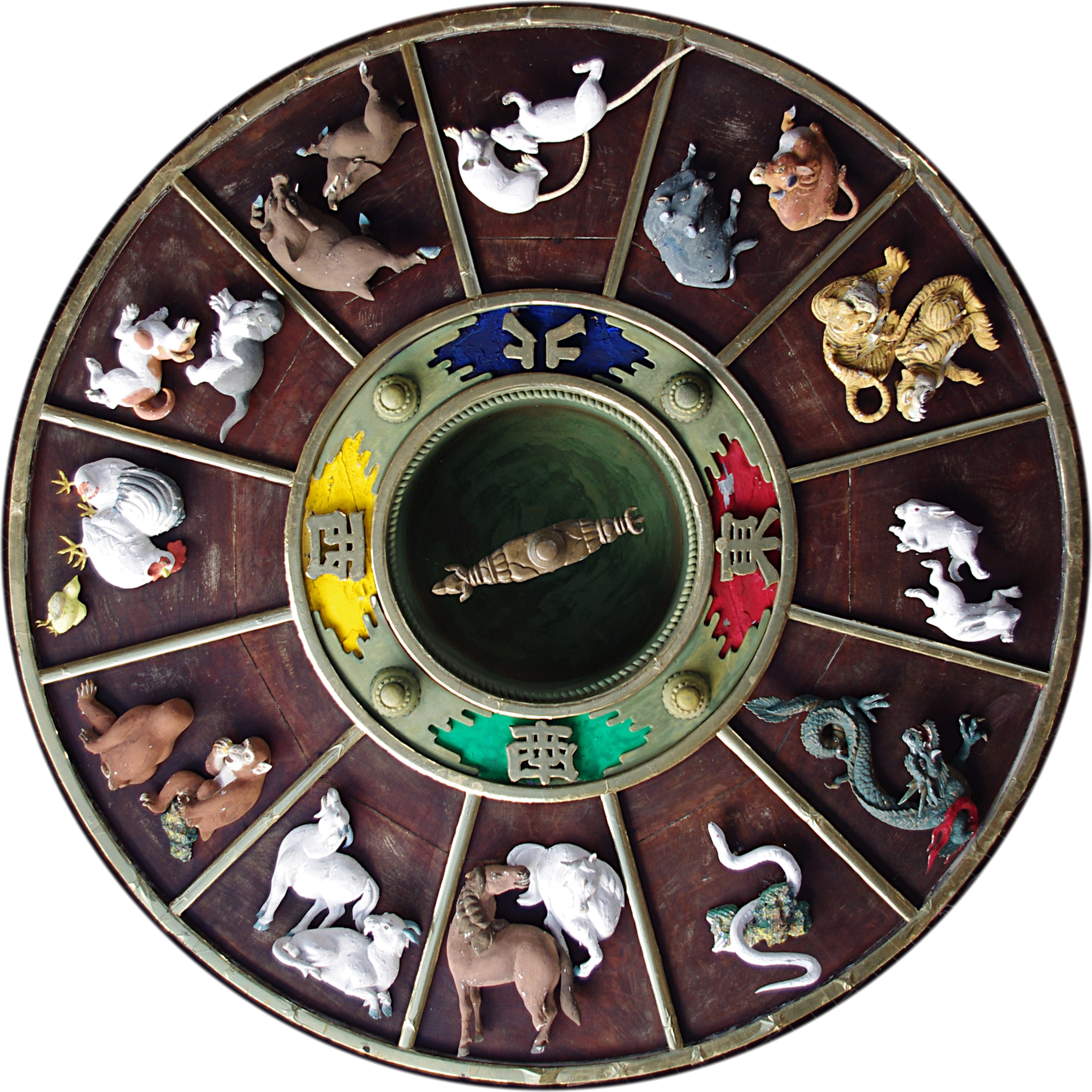chinese zodiac carvings