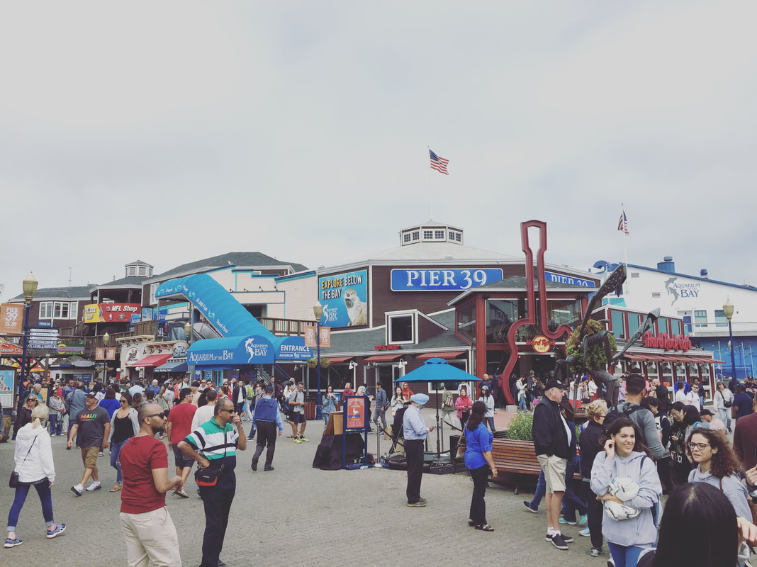 Pier 39 at Fisherman's Wharf