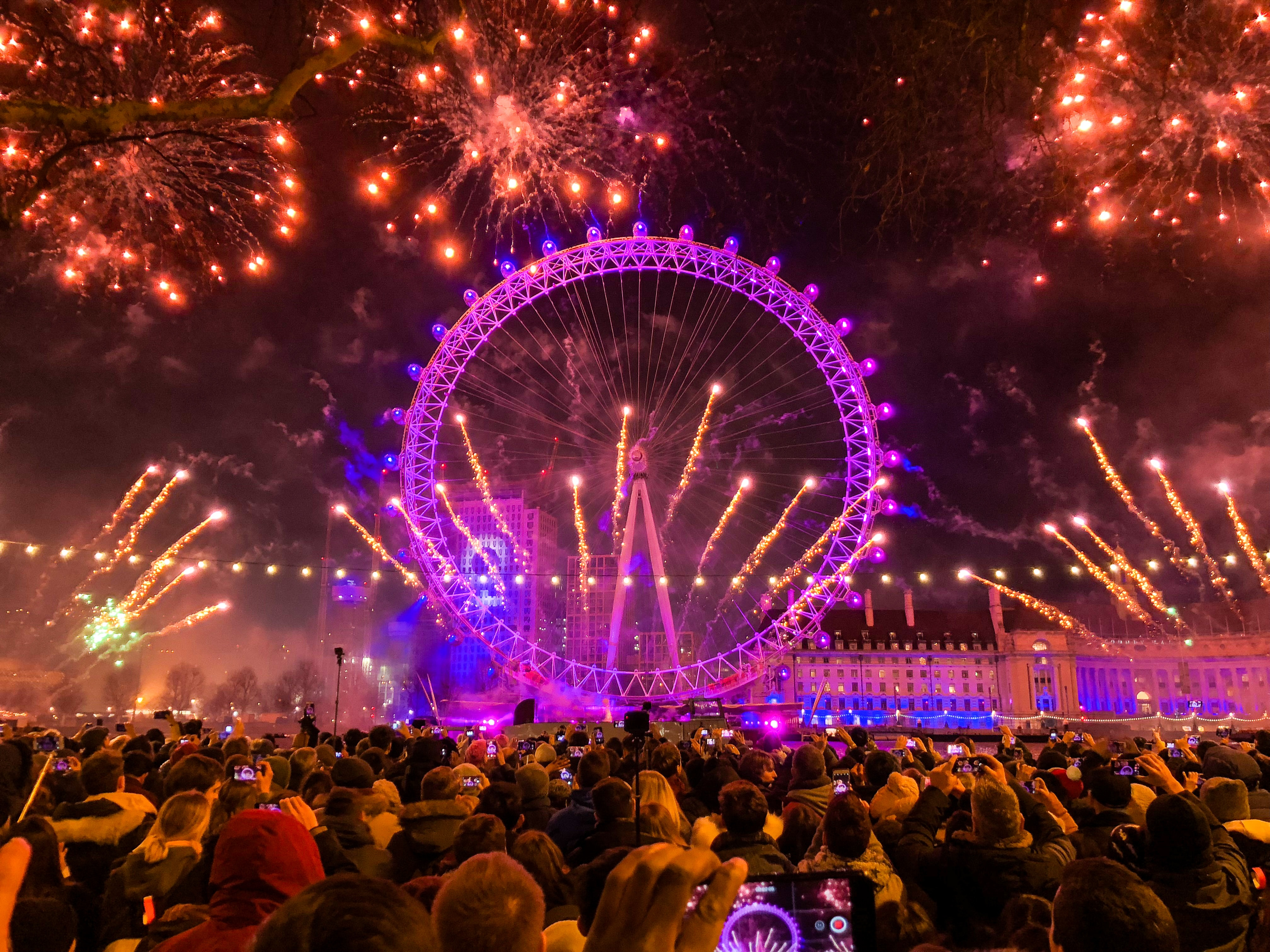 London on New Year's