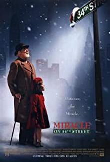 miracle on 34th alternative poster